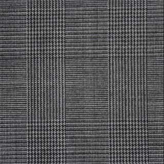 Suit Fabric Swatch light gray plaid