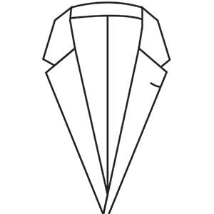 Slim Notch Lapel