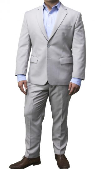 Men's Light Gray Suit