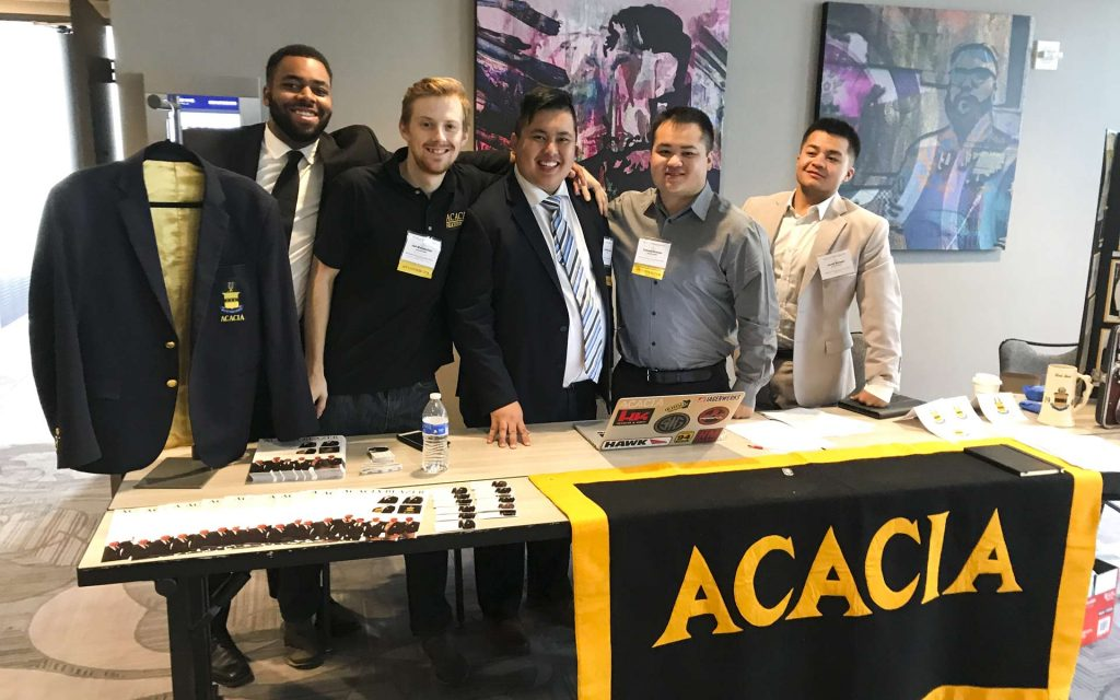 Acacia Fraternity Conclave - Fraternity Suits Made To Measure Business Launch