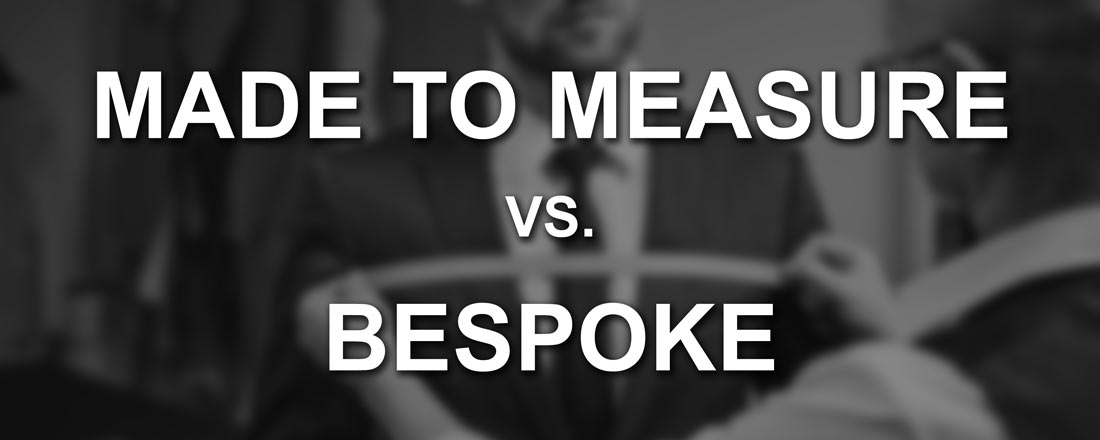 MTM vs Bespoke Suits